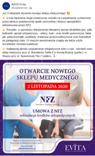 Case Study: NZOZ Evita